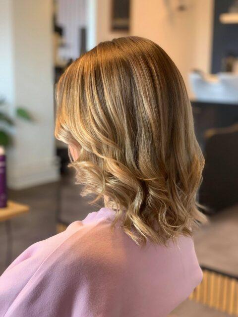 balayge hår lys